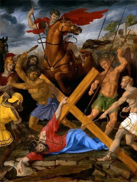 Stations Of The Cross 9