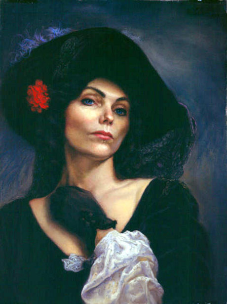 The Woman In Black - Annie Lore as Lola Montez