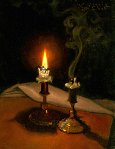 Two Candles (And Now There Is One)