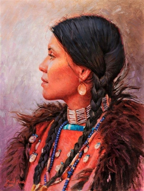 Daughter Of The Osage And Sioux