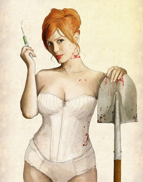 Slaughterhouse Starlets - Christina Hendricks