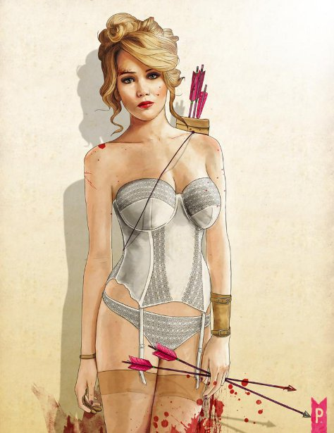 Slaughterhouse Starlets - Jennifer Lawrence
