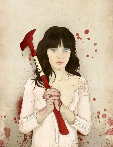 Slaughterhouse Starlets - Zooey Deschanel