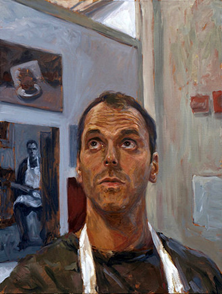 Self Portrait In Studio