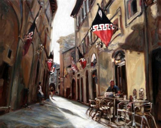 Via Cecco Angiolieri, Siena