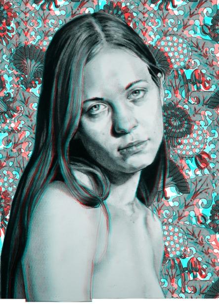 Anaglyph (3-D) Portrait