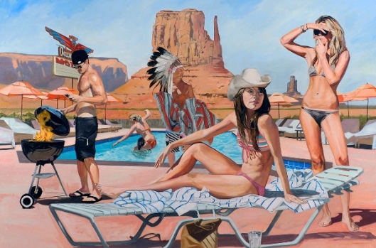 Monument Valley Pool Party