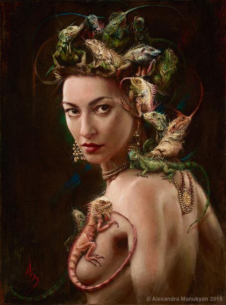 Amphibian Goddess
