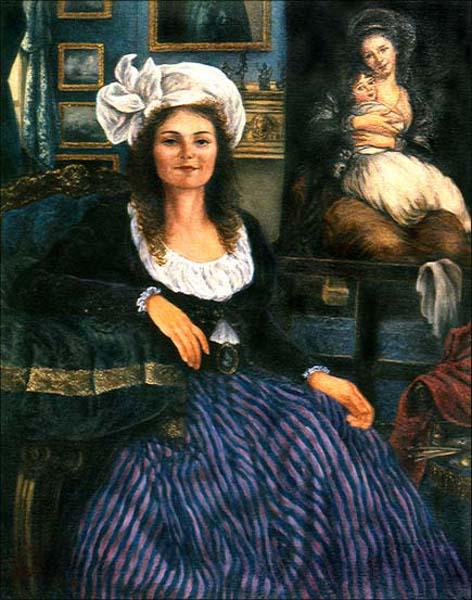 Dorothy Thomas As Elizabeth Vigée-Lebrun