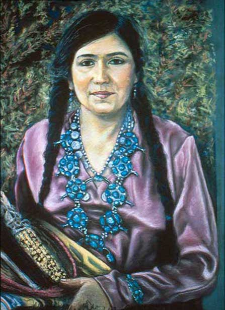 Linda Vallejo As Navajo Woman