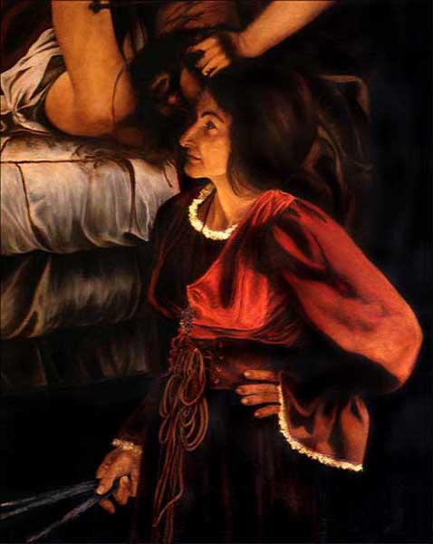 Lucy Blake As Artemisia Gentileschi