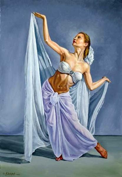 Irina In White