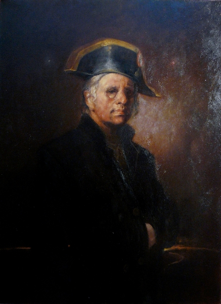 Odd Nerdrum as Napoleon