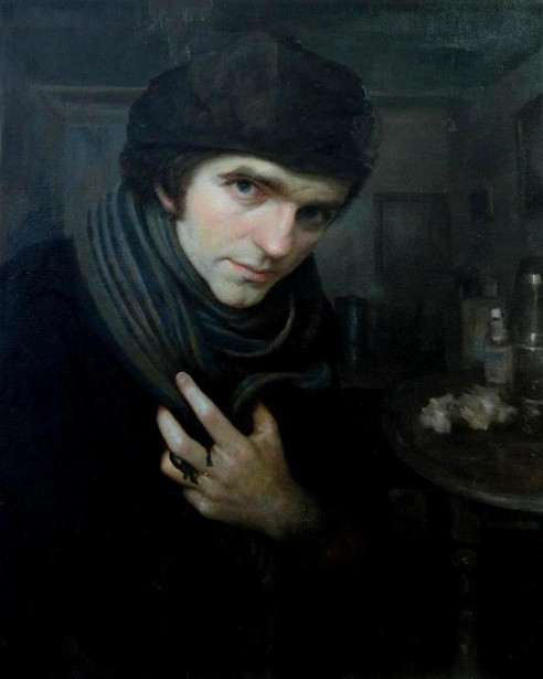 Self Portrait With A Cold