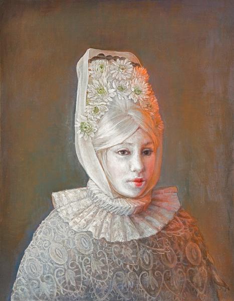 Maja In White