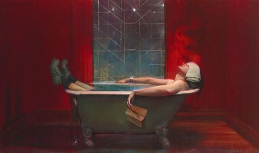 Bath Of Crimson Summer