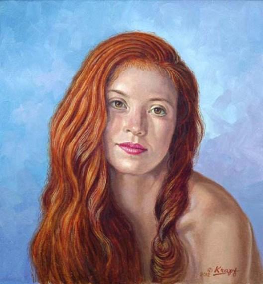 Becca - Hair Down Portrait
