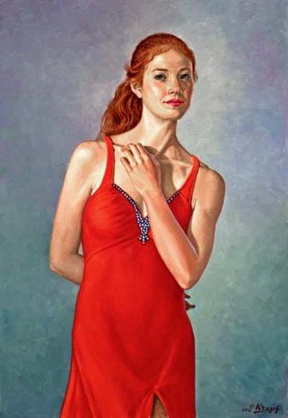 Becca In Red