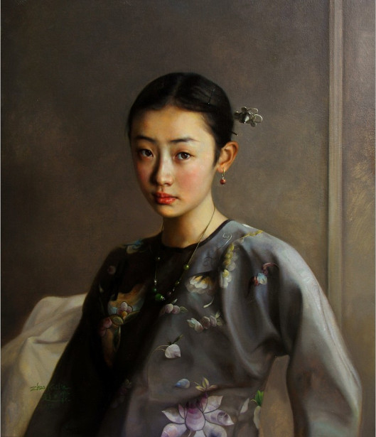 The Portrait Of Shao-Shuai