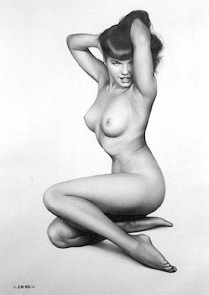 Bettie Page - The Pose