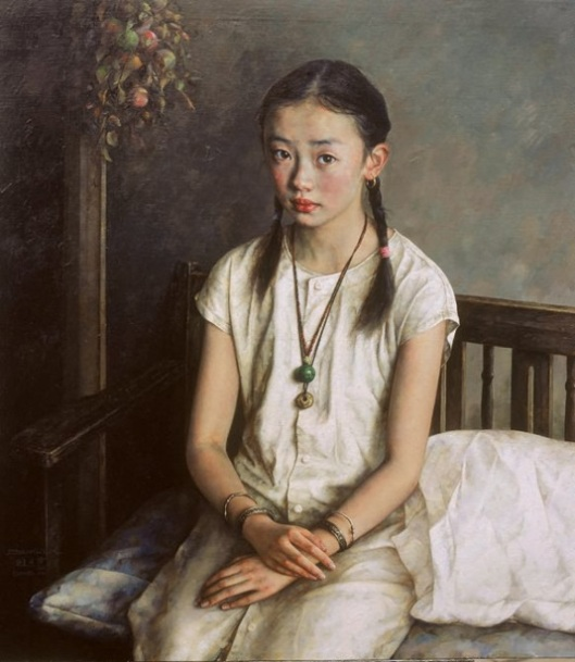 Silent - Seated Girl