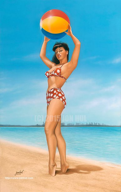 Bettie Page - Play Big Or Go Home!