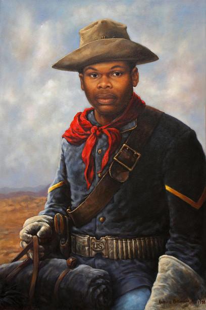 American Buffalo Soldier