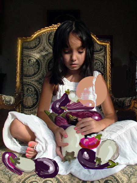 Eggplant Princess