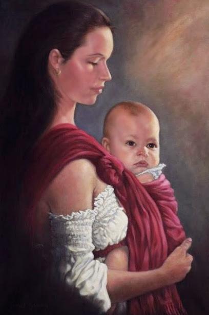 Baby In Rebozo