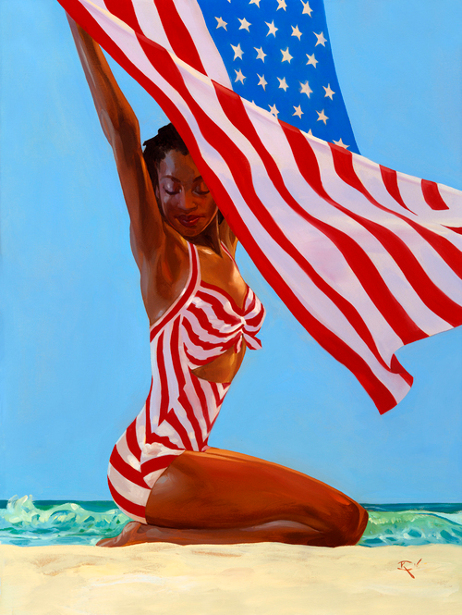 July: America The Beautiful