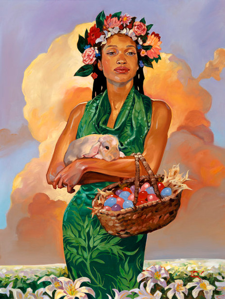 March: Easter Maiden