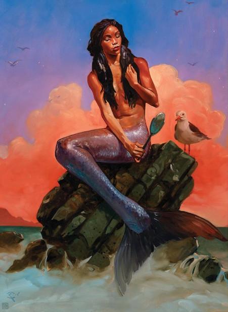Mermaid Mirror Glazing