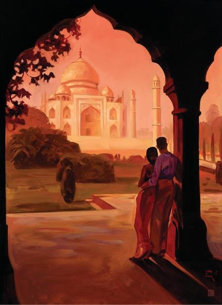 Taj Mahal Moment