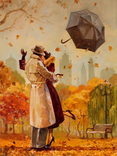 Windy City Kiss